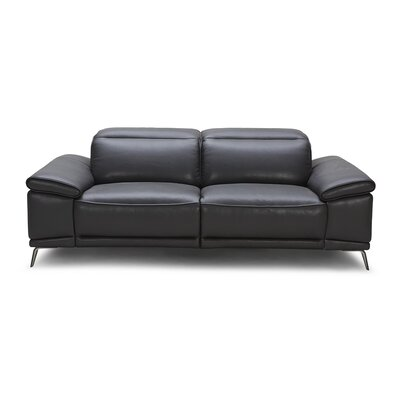 J&M Furniture Giovani Premium Leather Loveseat