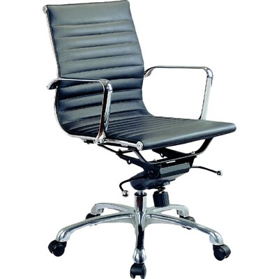 J&M Furniture Comfy Low-Back Office Chair