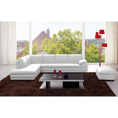J&M Furniture Orlando Leather Sectional