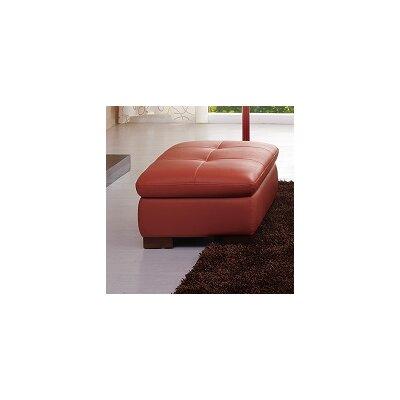 J&M Furniture Miami Leather Ottoman