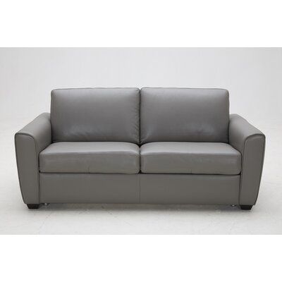 J&M Furniture Jasper Leather Sleeper Sofa