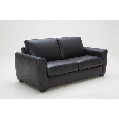 J&M Furniture Ventura Leather Sleeper Sofa