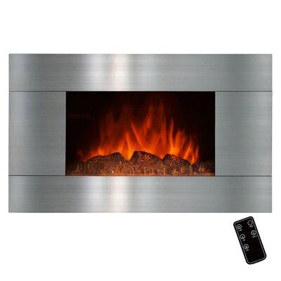 Goldenvantage Stainless Steel Wall Mount Electric Fireplace Reviews Wayfair