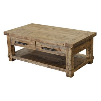 CDI International Country Coffee Table