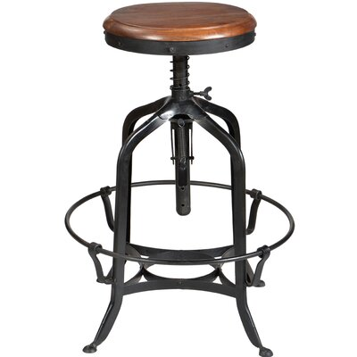 CDI International Adjustable Height Swivel Bar Stool