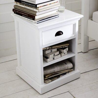 Infinita corporation halifax 1 drawer nightstand reviews - Chevet blanc d ivoire ...