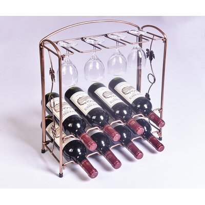 Wellyer Inc. Collapsible 8 Bottle Tabletop Wine ..