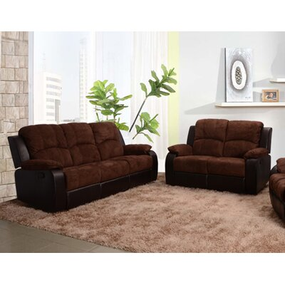 Beverly Fine Furniture Pamela 2 Piece Microfiber..