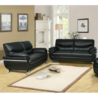 Beverly Fine Furniture Liam 2 Piece Living Room Set