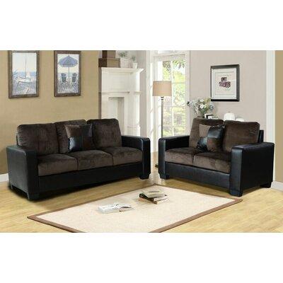 Beverly Fine Furniture James 2 Piece Living Room Set