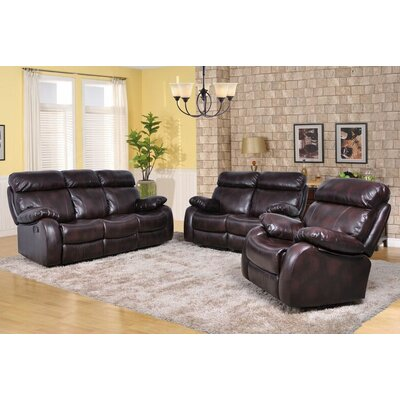 Beverly Fine Furniture Maxwell 3 Piece Living Room Set