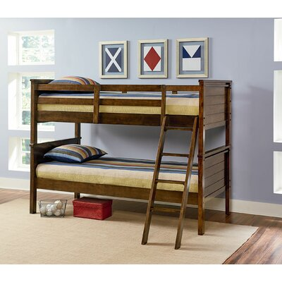 Red Barrel Studio Deforge Twin Bunk Bed Rails and Ladder
