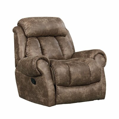 Loon Peak Orient Fabric Glider Recliner