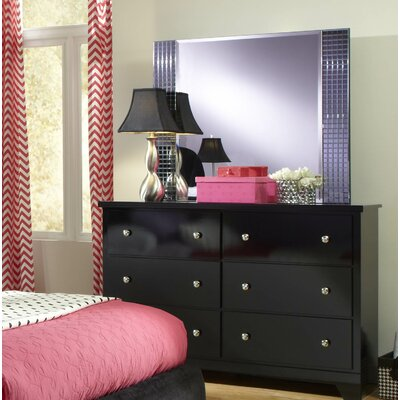 Standard Furniture Marilyn 6 Drawer Double Dresser