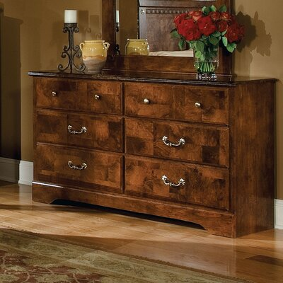 Standard Furniture San Miguel Double 6 Drawer Dresser