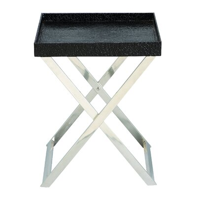 Cole & Grey Tray End Table