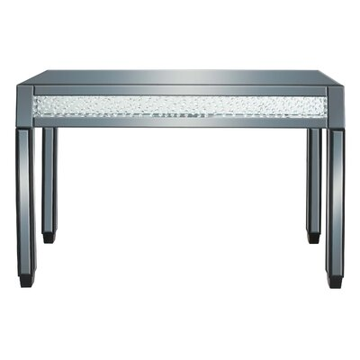 Cole & Grey Console Table and Mirror Set