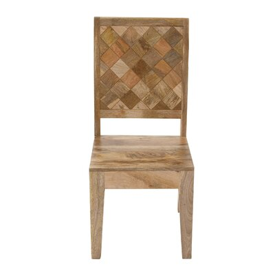 Cole & Grey Wood Side Chair