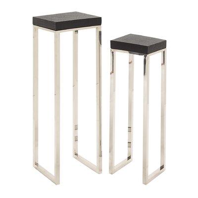Cole & Grey 2 Piece Nesting Table Set