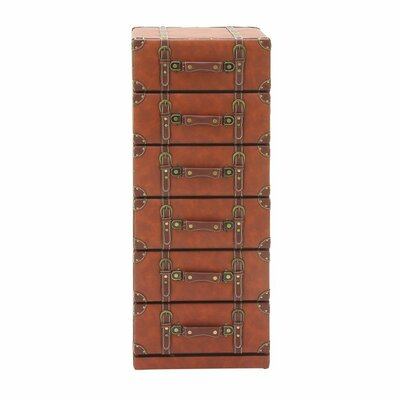 Cole & Grey 6 Drawer Lingerie Chest