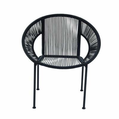 Cole & Grey Metal Arm Chair
