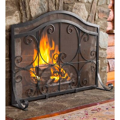 Plow & Hearth Single Panel Fireplace Screen & Reviews | Wayfair