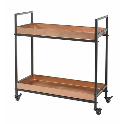 Plow & Hearth Rolling Serving Cart