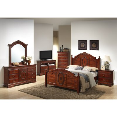 Glory Furniture Panel Customizable Bedroom Set