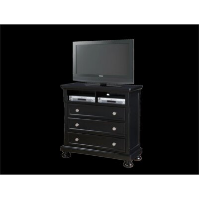 Glory Furniture Jenna 3 Drawer Media Chest