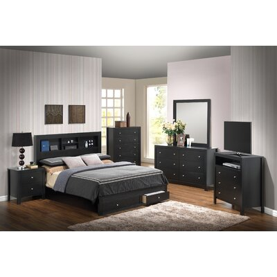 Glory Furniture Storage Panel Customizable Bedroom Set