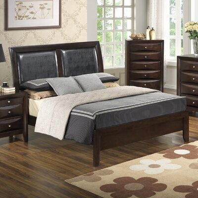 Glory Furniture Gemini Upholstered Panel Bed