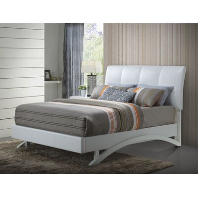 Glory Furniture Archer Upholstered Platform Bed
