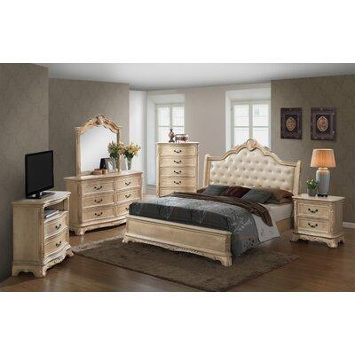 Rosalind Wheeler Bachelor Sleigh Customizable Bedroom Set