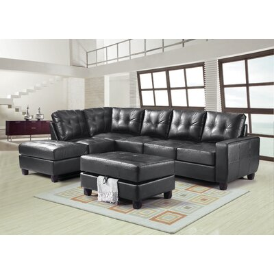 Glory Furniture Lina Reversible Sectional