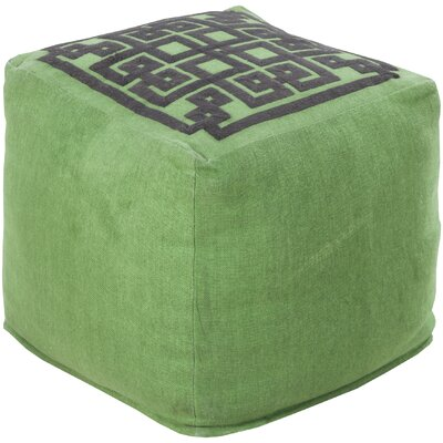 Surya Beth Lacefield Glowing Pouf Otto..