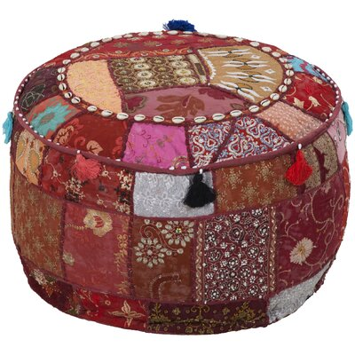 Surya Tactful Tribal Pouf Ottoman