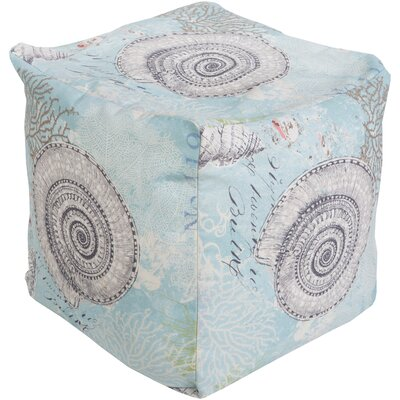 Beachcrest Home Charleston Park Pouf Ottoman