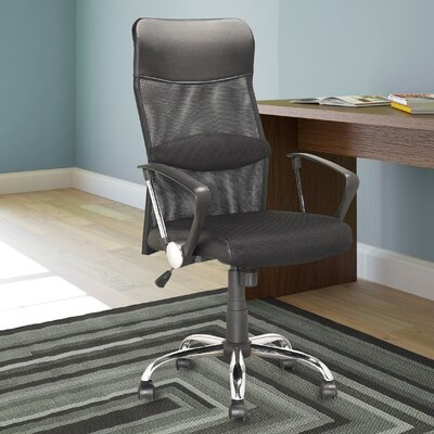 Latitude Run Height-Back Mesh Executive Chair with Arms