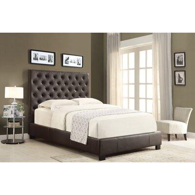 dCOR design X-Series Upholstered Platform Bed