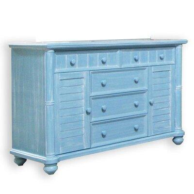 dCOR design Palmetto Beach 5 Drawer Dresser
