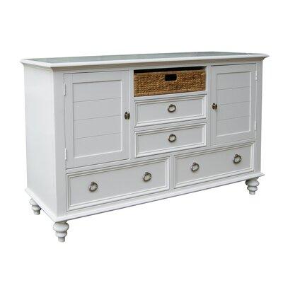 dCOR design Amalie 4 Drawer Combo Dresser