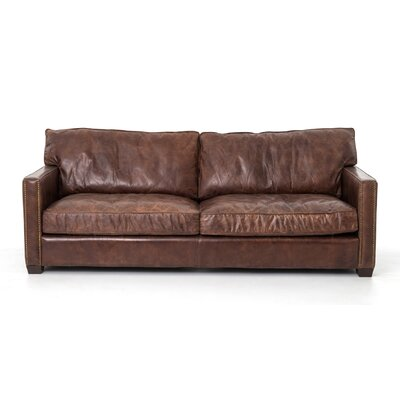 dCOR design Larkin Leather Sofa