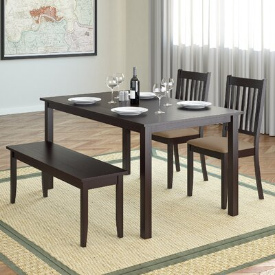 Darby Home Co Dunster 4 Piece Dining Set