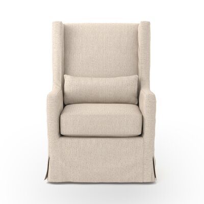 dCOR design Swivel Wing Armchair