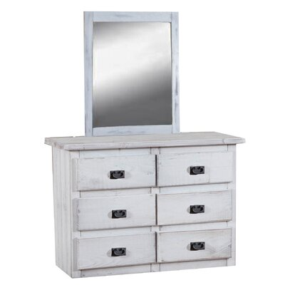 dCOR design 6 Drawer Dresser