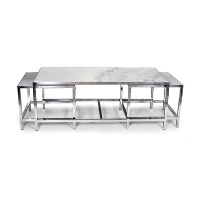 dCOR design The Svendborg 3 Piece Coffee Table Set