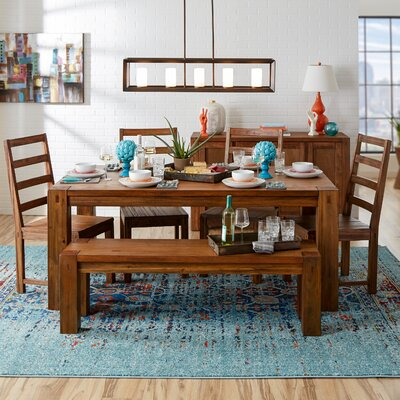 Origins by Alpine Shasta Dining Table