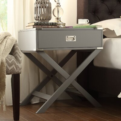 Mercury Row Neptune 1 Drawer End Table