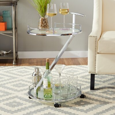 Mercury Row Zona Loft Bar Serving Cart