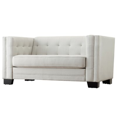Mercury Row Vidette Tufted Upholstered Loveseat